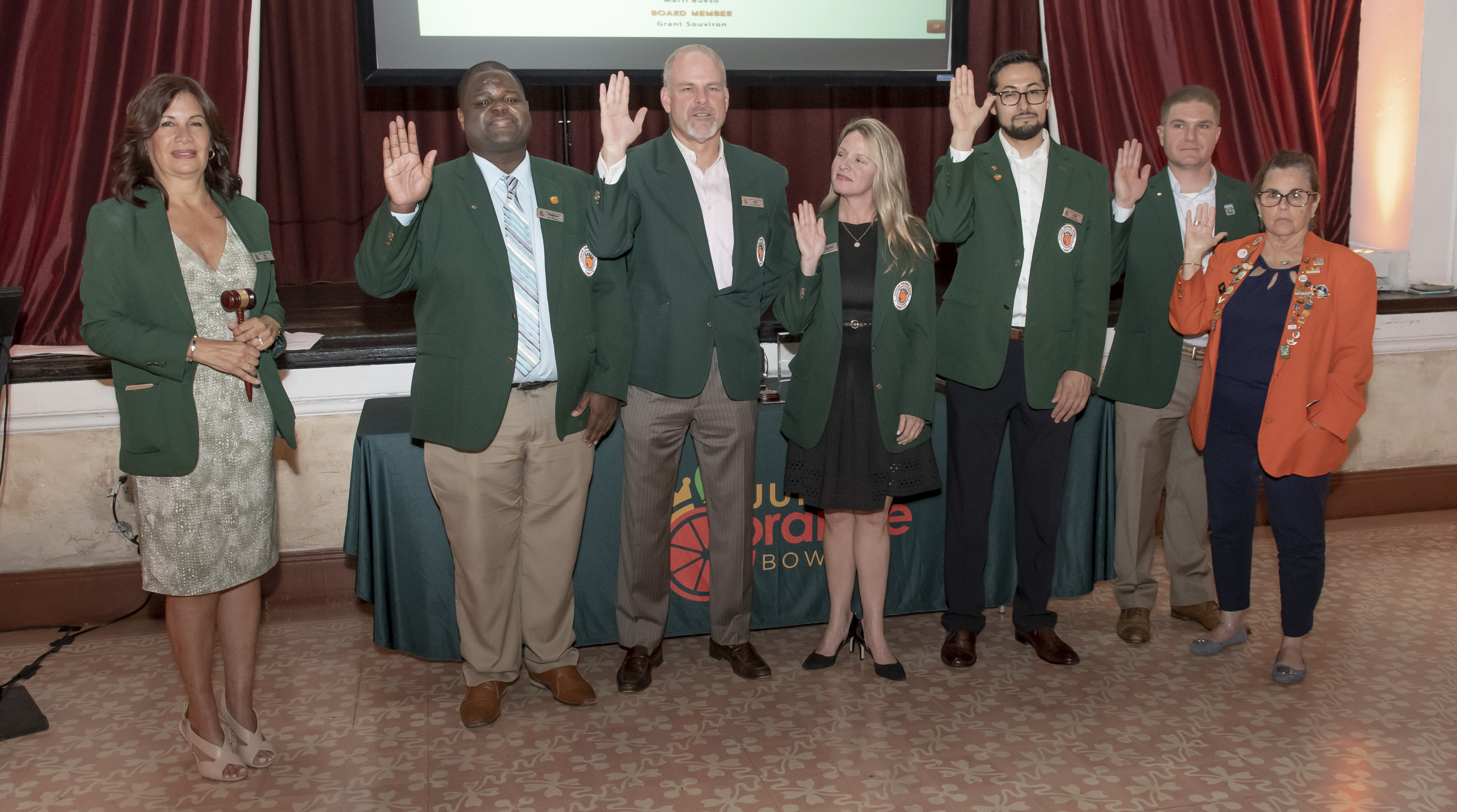 NEW JUNIOR ORANGE BOWL PRESIDENT INDUCTED AT BOARD INSTALLATION
