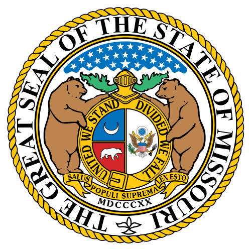 W32300 -  Seal of the State of Missouri Wall Plaque