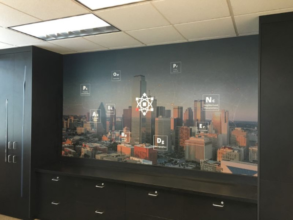 Wall wraps for conference rooms in Orange County CA
