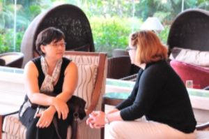Participants at NCF Counseling and Member Care Seminars enjoy mutual support and encouragement.