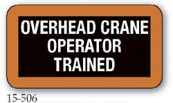 Overhead Crane Operator Trained