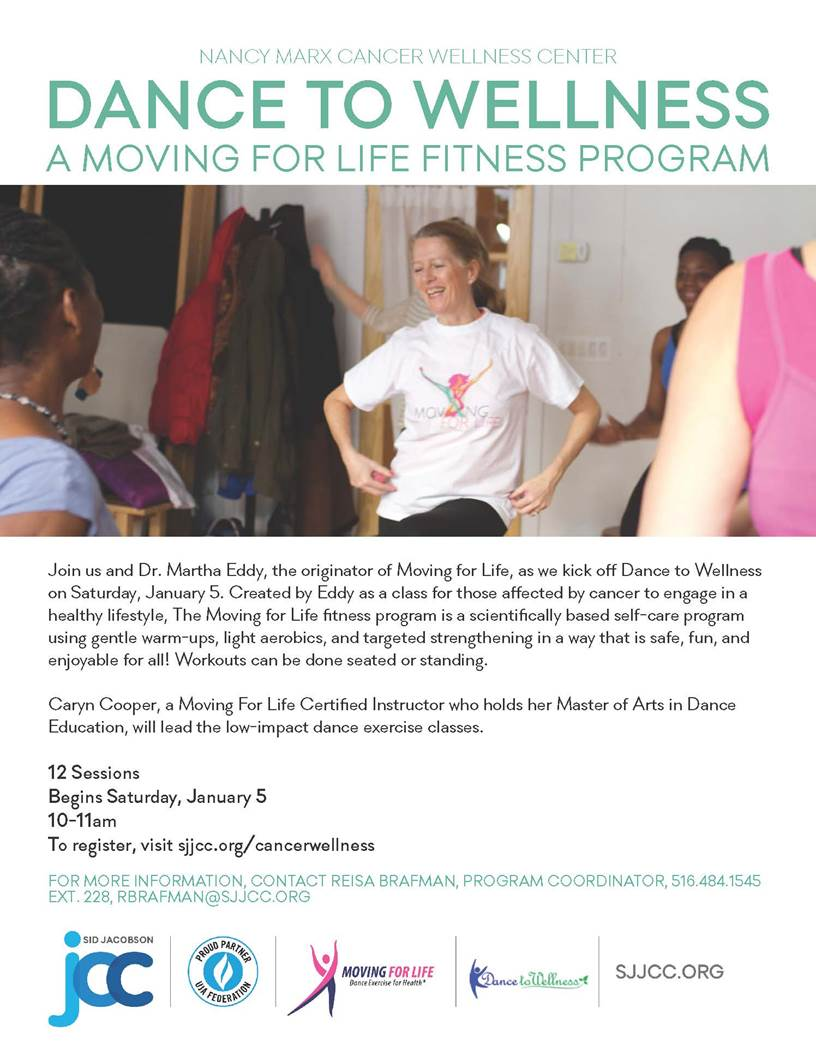 Dance To Wellness- A Moving for Life Fitness Program