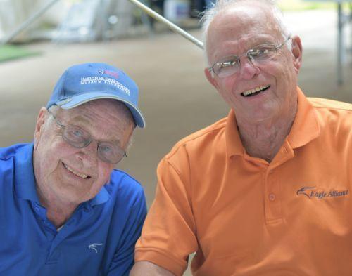 Bill Saadi and James Philblad
