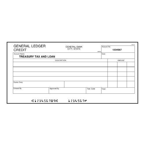 2 Part Carbonless Business Forms - 11 x 17