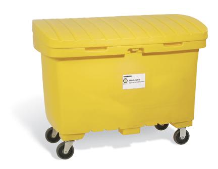 """A01LC020  Spill Cart 8"""" Wheels"""