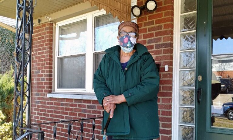 Prudence Coleman was the Recipient of a Critical Repair from Dayton Habitat