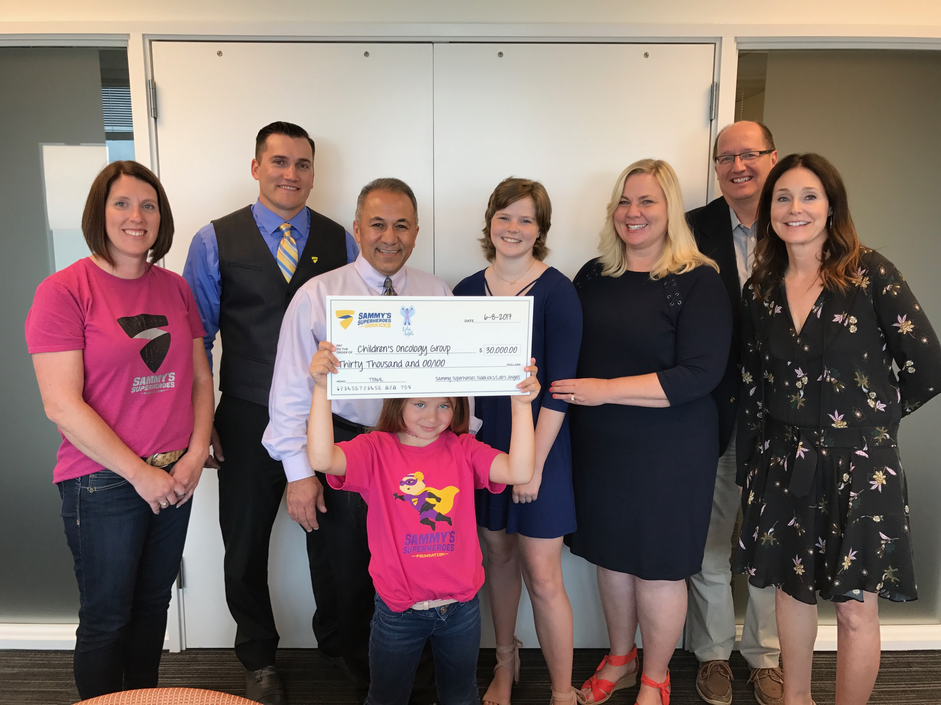$30,000 Donated to Children's Oncology Group's AML Project
