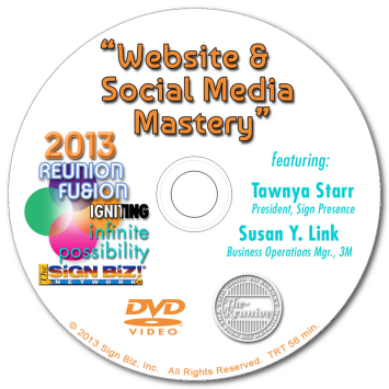 DVD-2013OSWA1: Website and Social Media Mastery!