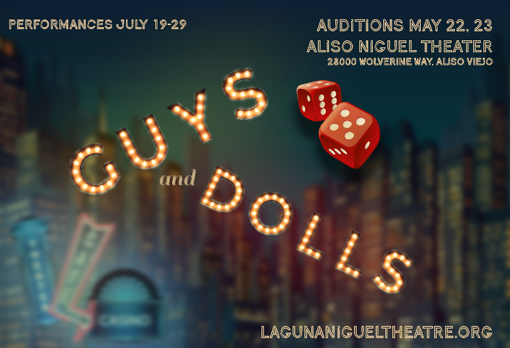 Guys & Dolls Auditions