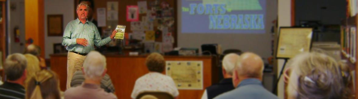 Humanities Nebraska : Speakers : Speakers Bureau Fee Payment