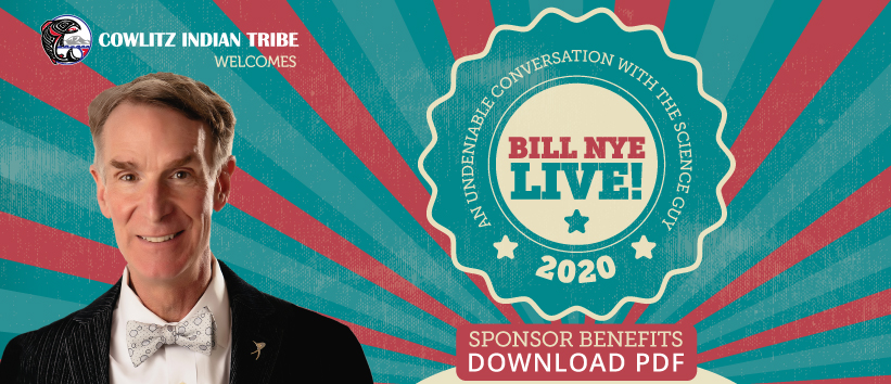 Bill Nye Live! Sponsor Packages