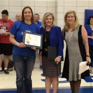 Linda Roh, Myrtle Clark Educator Award
