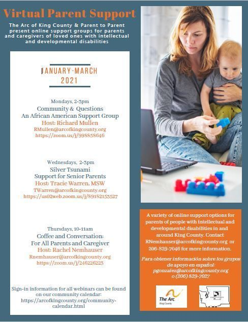 Virtual Parent Support: Community & Questions An African American Support Event