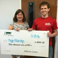 Kyle Aldrdige - Paul and Jane Meyer High School Graduate