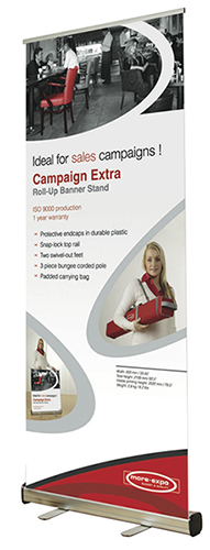 CampaignExtra Banner Stand