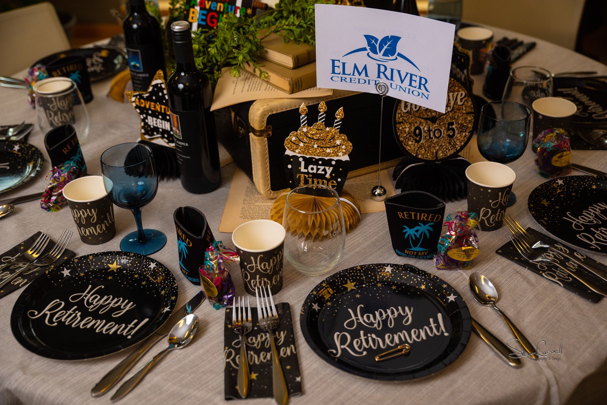 $1,000 sponsor - Elm River Credit - Happy Retirement