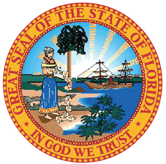 W32111 - Seal of the State of Florida, Version 2