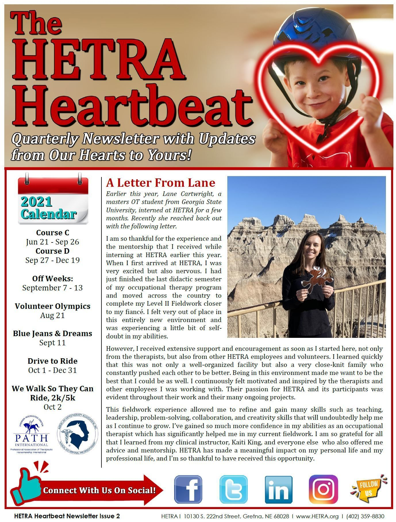 Heartbeat Issue #2 - Summer 2021