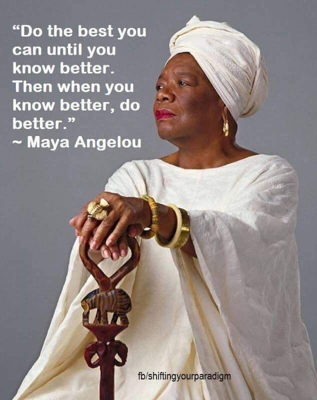 Grandmother Maya Angelou, Author