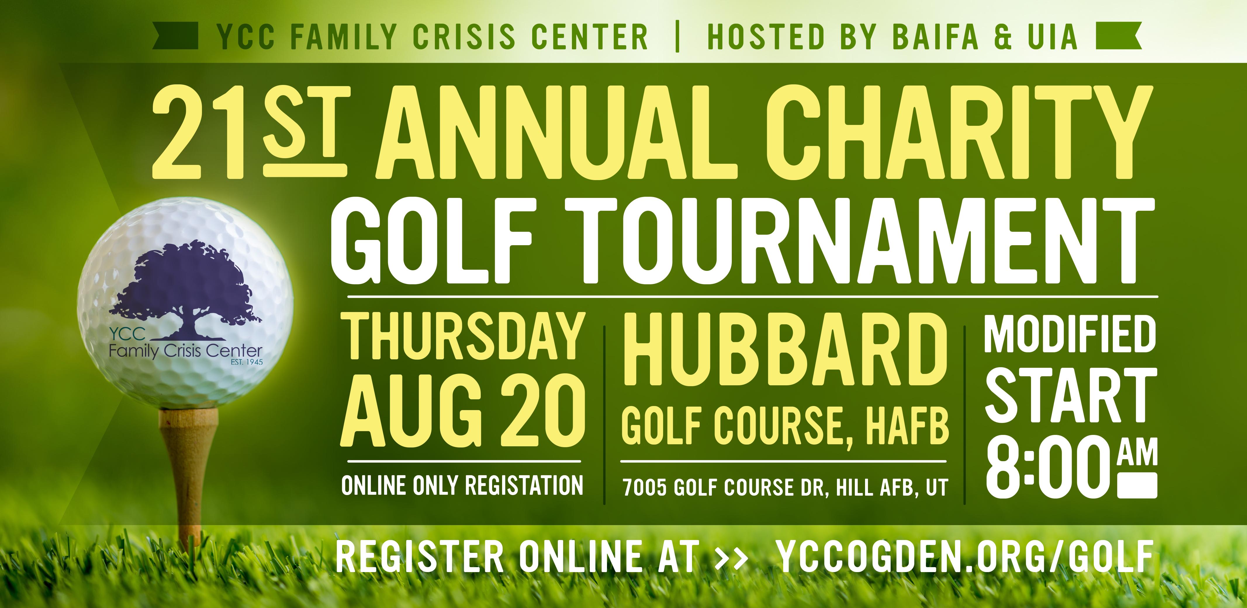 YCC Family Crisis Center 21st Annual Charity Golf Tournament hosted by BAIFA & UIA