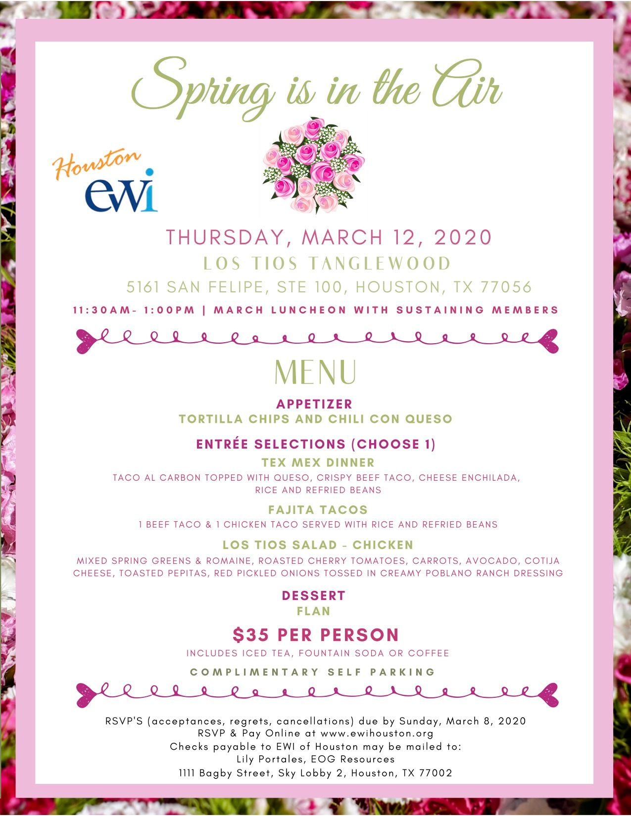EWI March Monthly Meeting