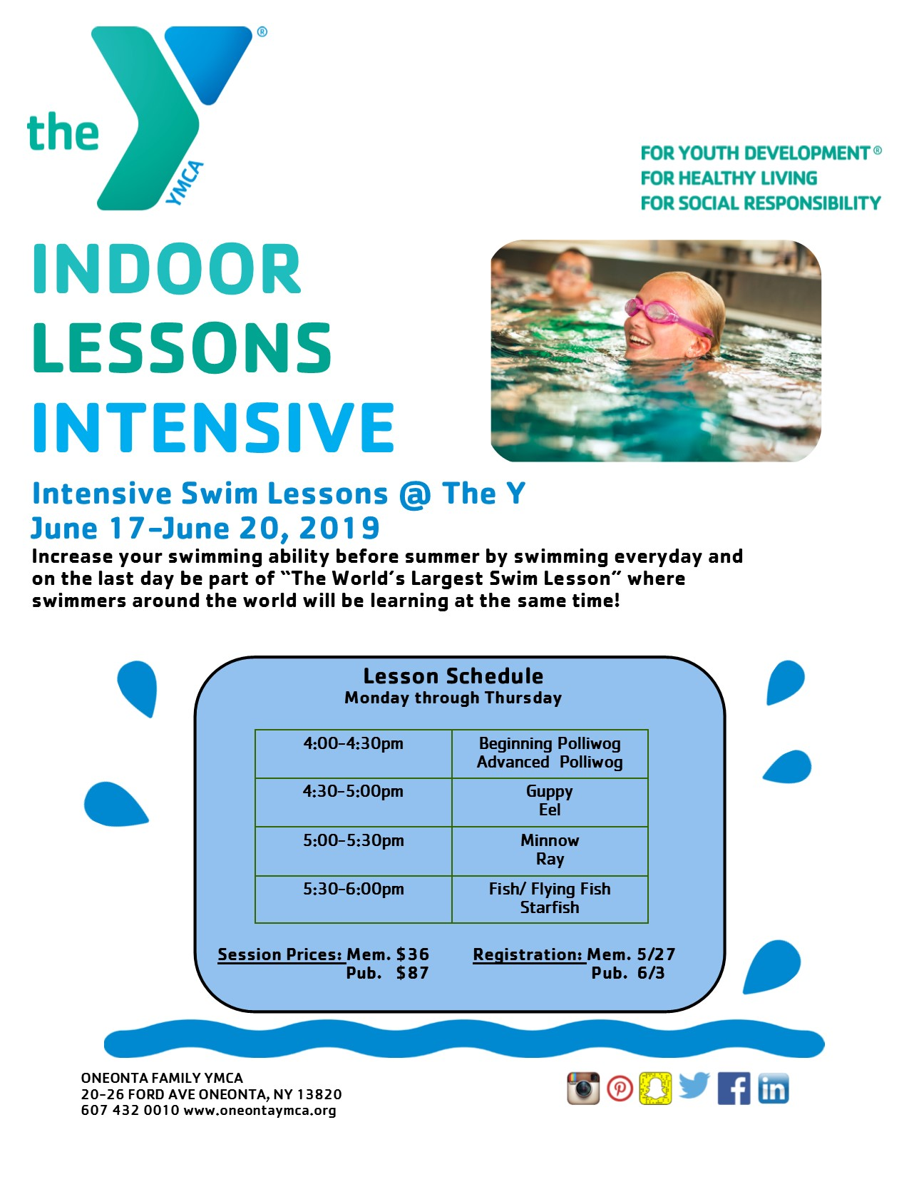 Indoor Lessons Intensive