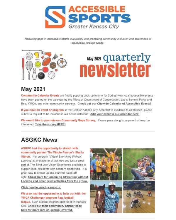 May 2021 ASGKC Newsletter