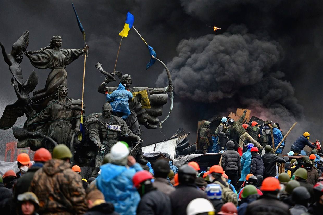 Maidan massacre anniversary: Ukraine remembers bloody day of protests