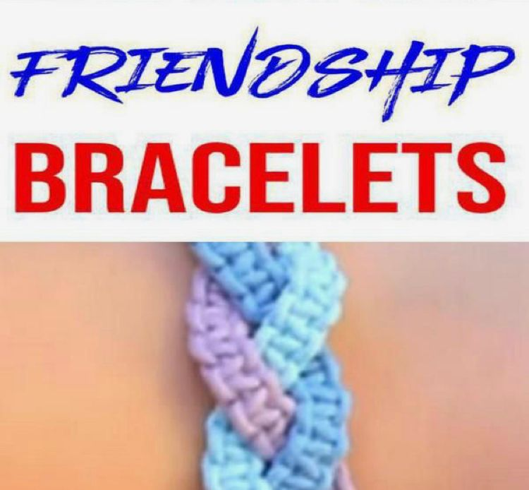 Friendship Bracelet Making (PDF)