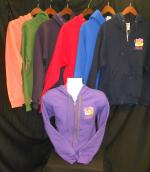 Adult Hooded Full Zip Sweatshirt