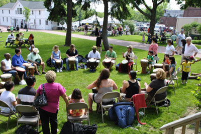 Weekly Community Drum Circle, Free (posted July 6, 2017)