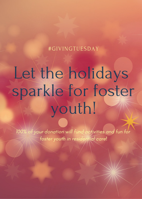 Make the Holidays Sparkle for Foster Youth!