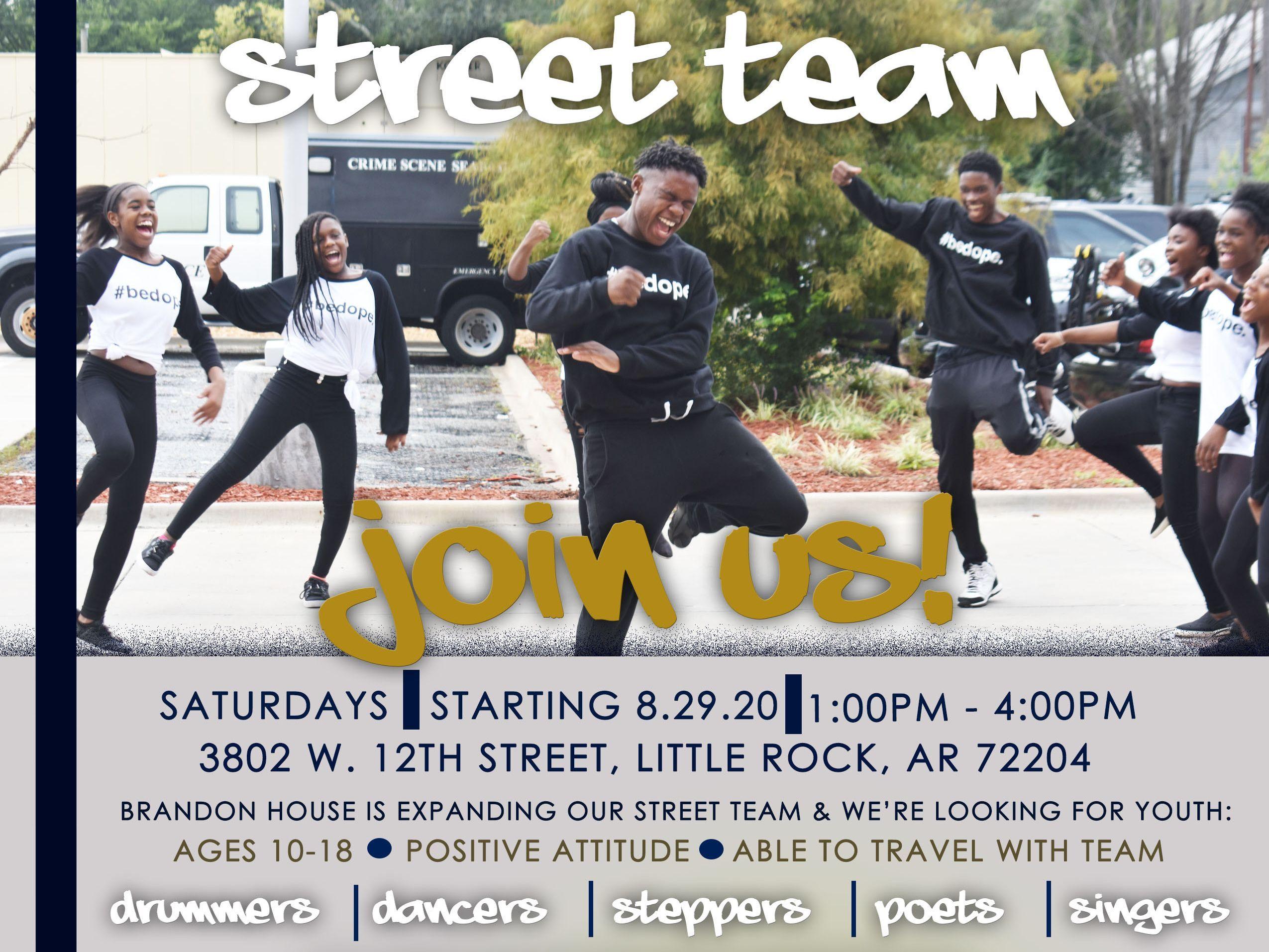 Street Team Rehearsal