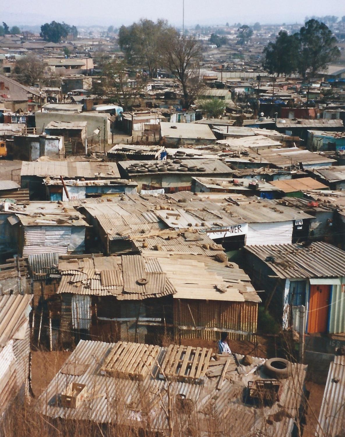 Soweto township South Africa, Photo courtesy Derek Elsom