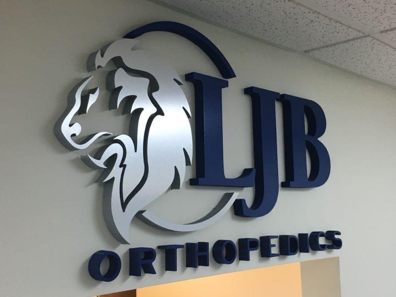 office lobby signs custom 3d logo wall signs irvine ca 92614