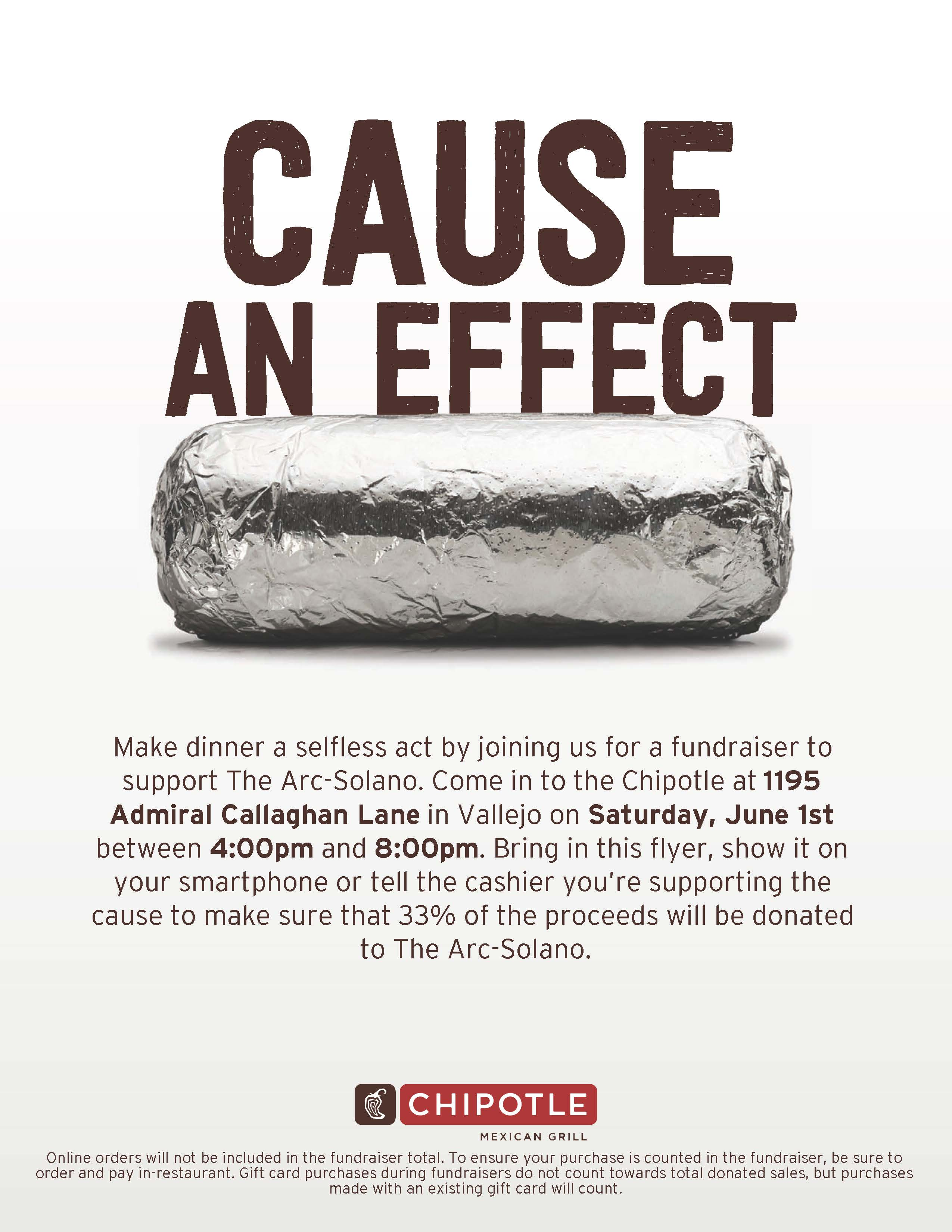 Dine Out @ Chipotle!