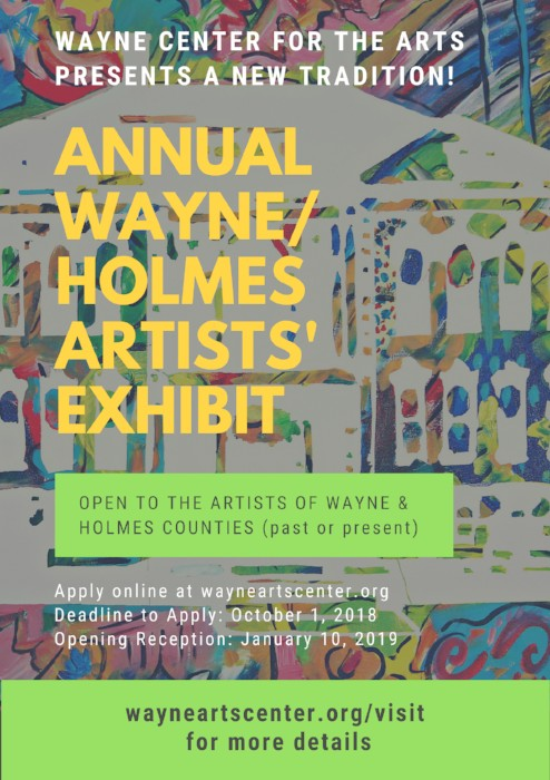 First Annual Wayne/Holmes Artists' Exhibition
