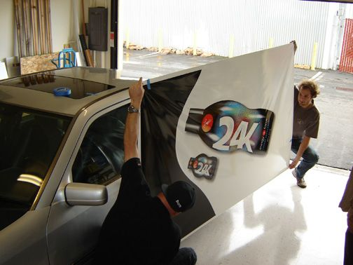Vehicle Graphics Installation & Removal