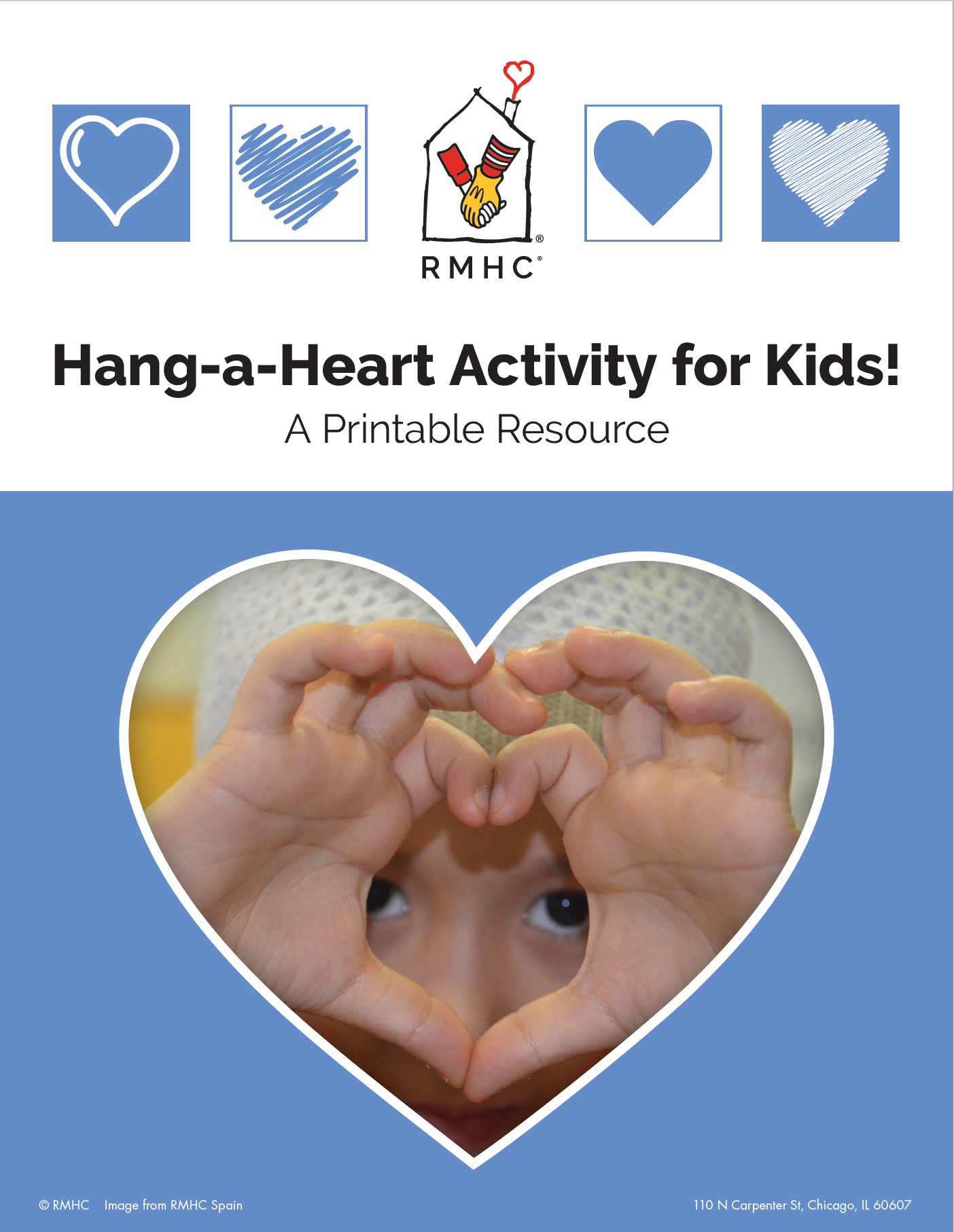 Decorate & Hang A Heart!