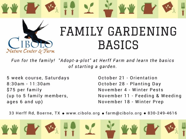 FARM:  Family Gardening Basics