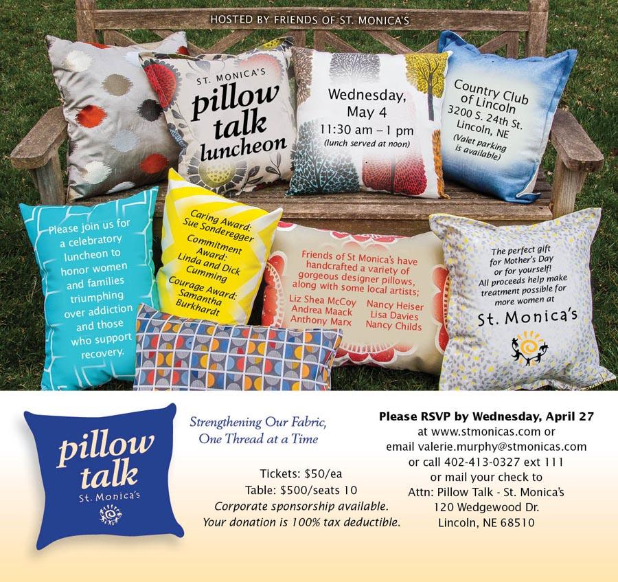 St. Monica's Pillow Talk 2016