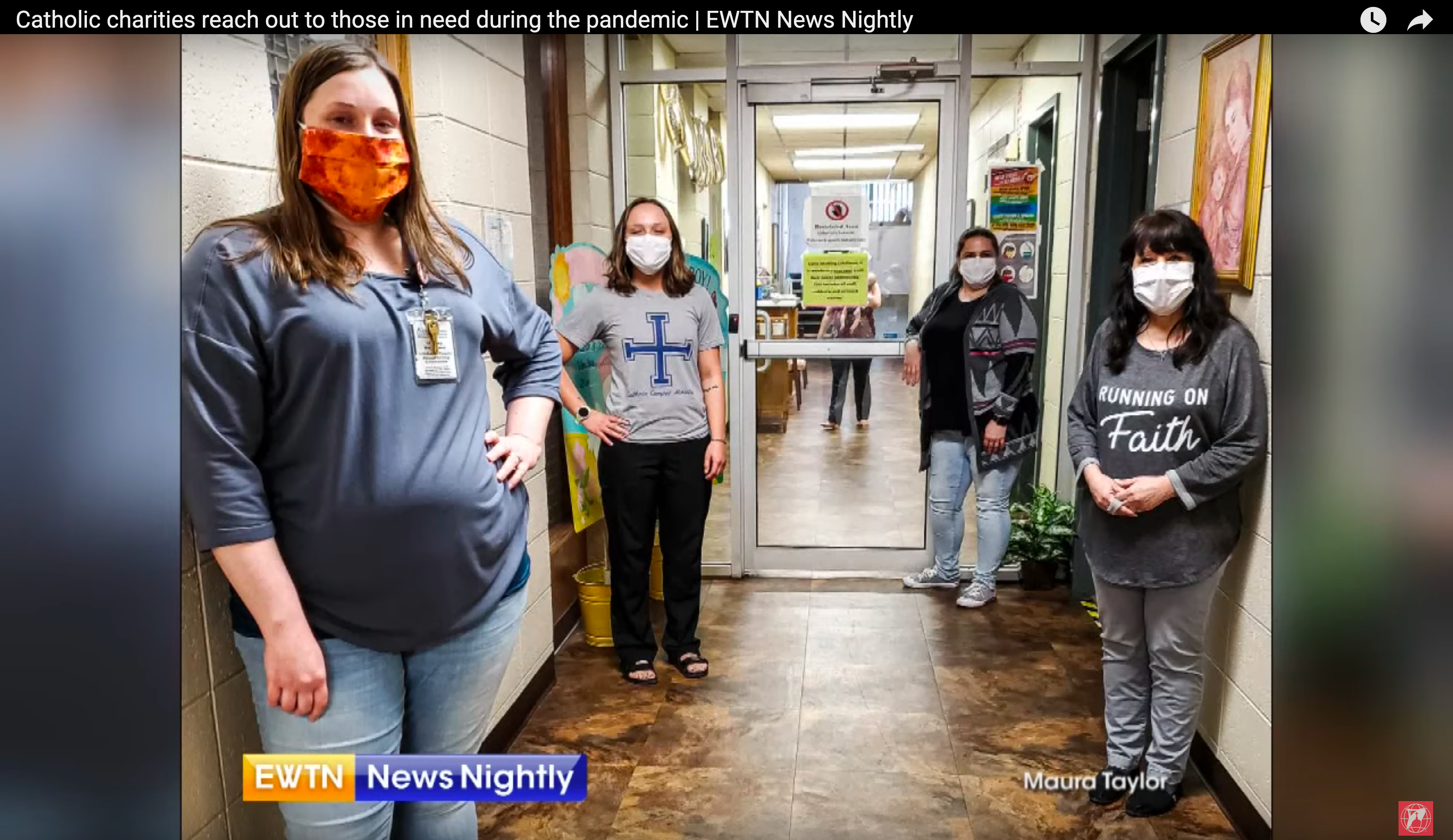 EWTN features CCSOMO's LifeHouse in national story about Catholic Charities agency's COVID-19 response