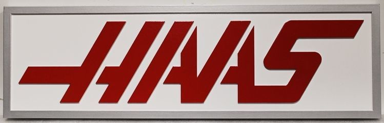 S28213 - Carved 2.5-DHDU  Sign for the Haas Company