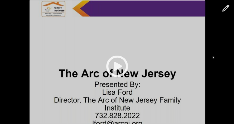 Meet & Greet with NJ's Ombudsman For Individuals with Intellectual or Developmental Disabilities and Their Families