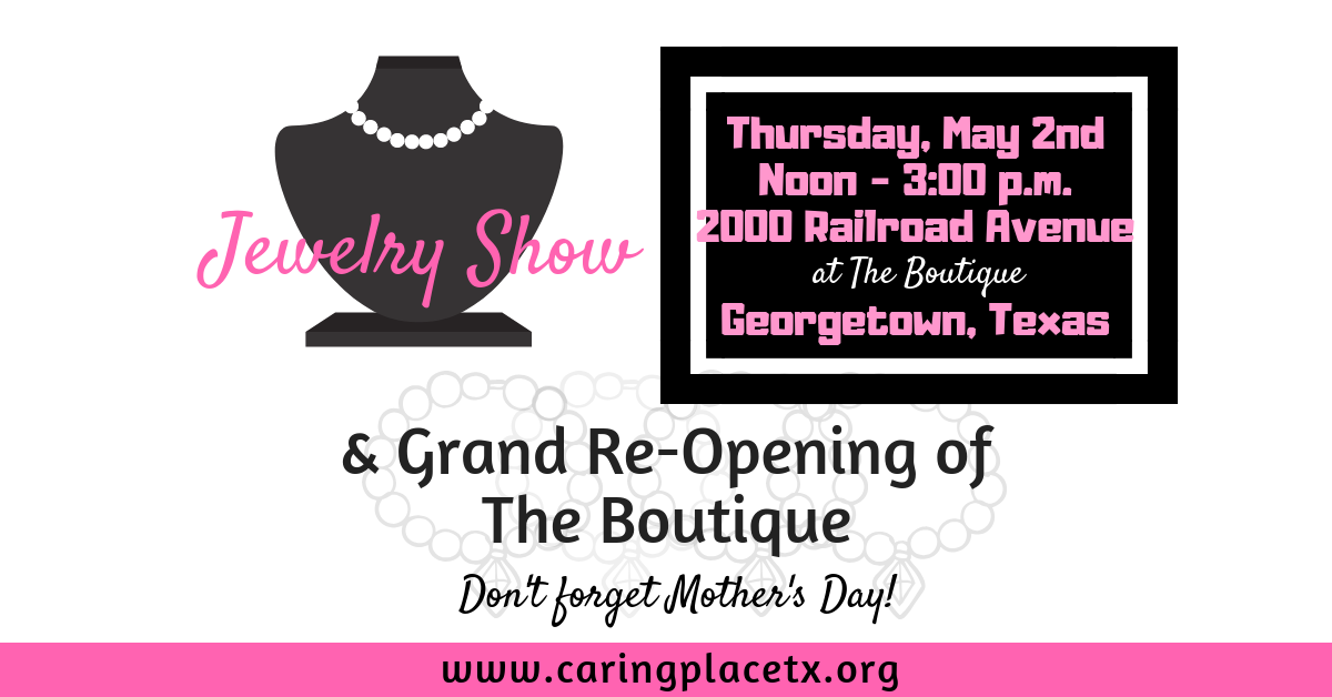 Jewelry Show and Boutique Grand Re-Opening
