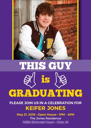 Graduation Open House Cards