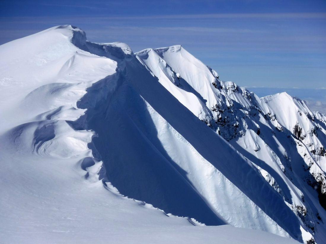 Summit Rim to True Summit (8,313')
