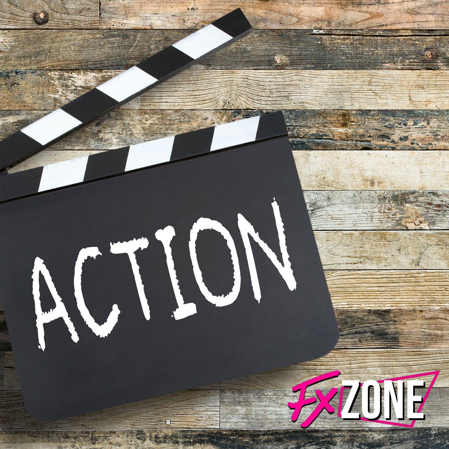 action sign FX Zone logo