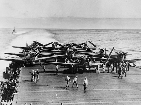 1942: Battle of Midway began.