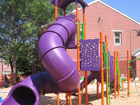 Playground Built in Six Hours